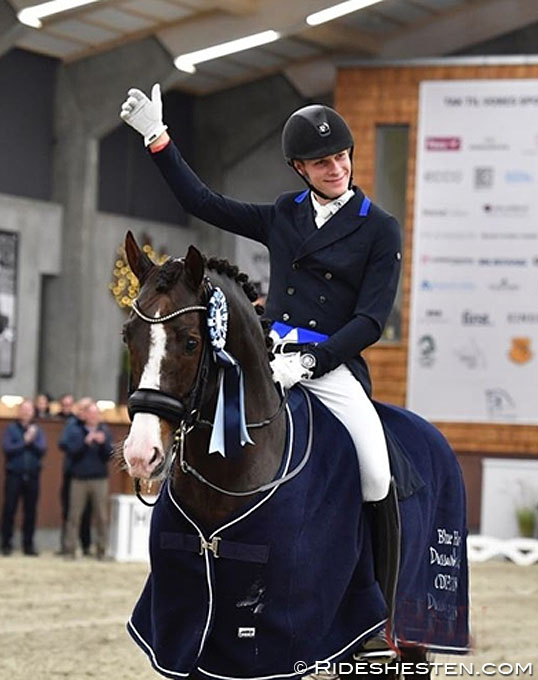 Bachmann and Blue Hors Don Olymbrio Book Home Victory at 2018 CDI Randbøl
