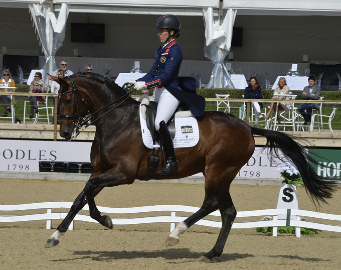 Leading dressage stars hester and dujardin head to the for Dujardin 2018
