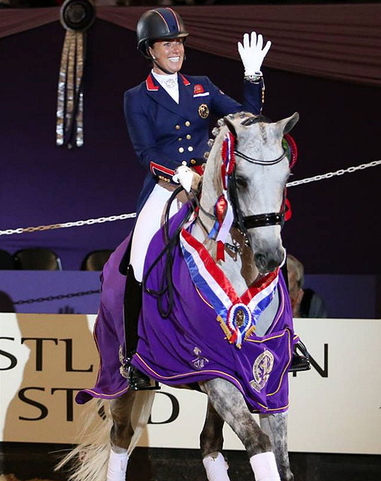 Flipboard some days your horse isn 39 t helping others she for Dujardin 2018