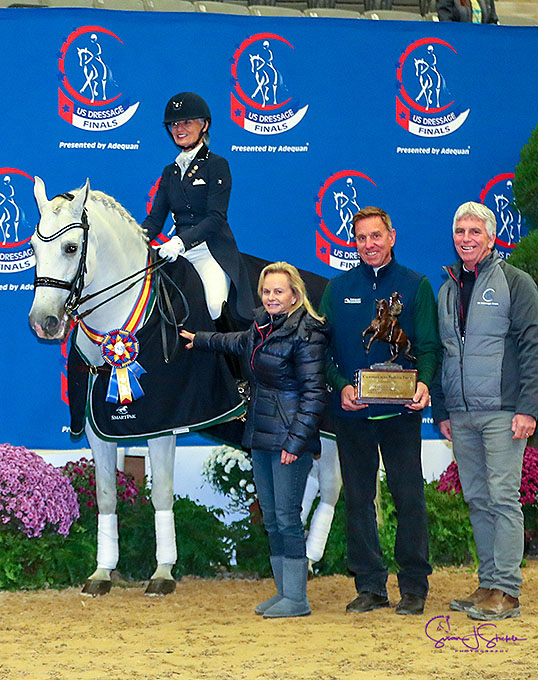 Hewitt, Batchelder, Rumbough, Koford Win Kur Titles at 2018 U.S. Dressage Finals