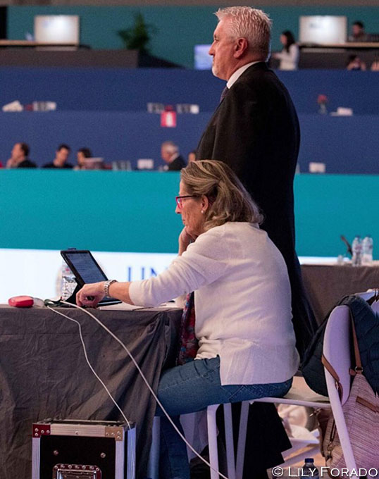 Paperless Judging System Came into Play at 2018 CDI-W Madrid
