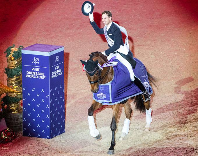 Benjamin Werndl Secures Spectacular Win at 2018 CDI-W Salzburg