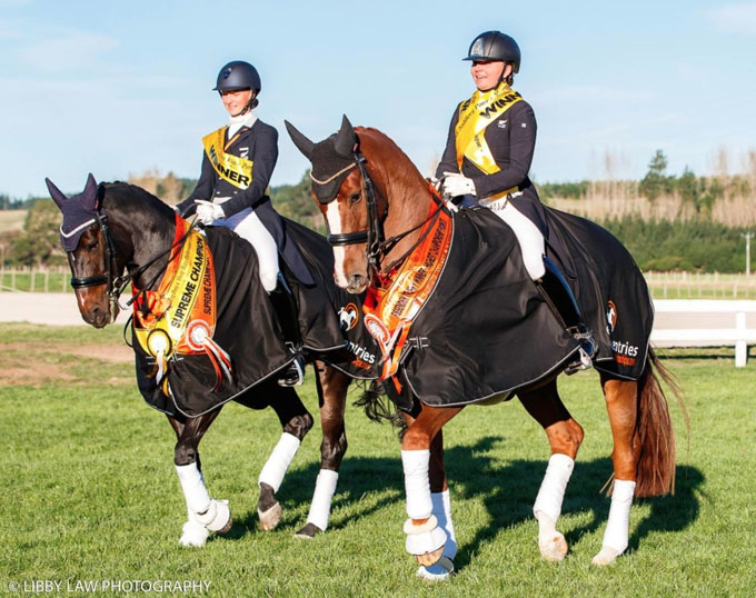 Sage and Dolley Take Titles at 2019 New Zealand Youth Riders Championships