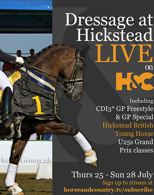 Horse Amp Country Live Stream Of 2019 Hickstead