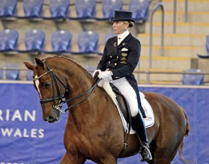 Judy Dierks and Feramo K at the 2014 CDI Sydney :: Photo © Venhaus