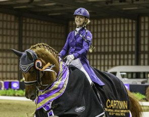 Julie Brougham and Vom Feinsten are the 2018 NZL Grand Prix Champions :: Photo © Libby Law