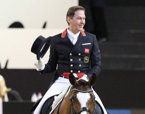 Emile Faurie and Lollipop at the 2018 CDI-W 's Hertogenbosch :: Photo © Astrid Appels