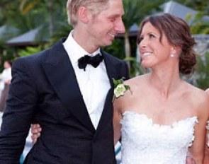 Lyndal oatley wedding
