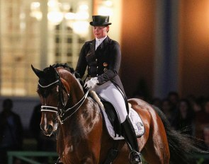 Furstenglanz at the 2017 CDI Wiesbaden in the Kur under floodlight :: Photo © LL-foto