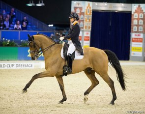 Lotje Schoots and Cocksdorp Texel at the 20187 CDN Amsterdam :: Photo © Digishotsh
