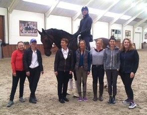 DressageQuest Clinic at Helgstrand Dressage on 27 May - 1 June 2018