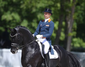 Hans Peter Minderhoud and Dream Boy at the 2018 CDIO Compiègne :: Photo © Astrid Appels