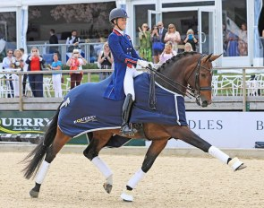 Charlotte Dujardin and Mount St. John Freestyle at the 2018 CDI Bolesworth