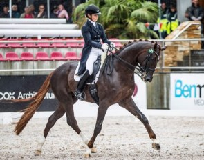 Alexis Hellyer and Bluefields Floreno at the 2018 CDI Bawley Point :: Photo © Stephen Mowbray