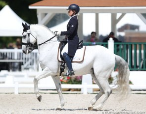 Anne Sophie Serre and Vistoso de Massa at the 2018 CDIO Compiègne :: Photo © Astrid Appels