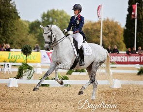 Dujardin and Florentina at the 2018 British Dressage Championships :: Photo © Daydream Photo