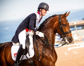 Grand Prix Special bronze for Mount St. John Freestyle at the 2018 World Equestrian Games :: Photo © Stefan Lafrentz