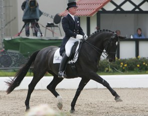 George Willams and Rocher at the 2008 CDI Hagen :: Photo © Astrid Appels