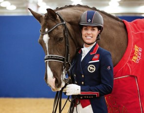 Double Olympic Champion Charlotte Dujardin is heading to the 2018 Liverpool International Horse Show
