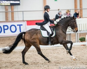 Lo Dahlquist Morkenstam and Welton Five at the 2019 CDI Sopot :: Photo © Lukasz Kowalski
