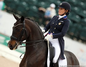 Ashley Holzer and Valentine at the 2019 CDI Wellington :: Photo © Astrid Appels