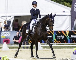 Amy Sage and RM All About Me at the 2019 NZL Horse of the Year Show / CDI Hastings :: Photo © Libby Law
