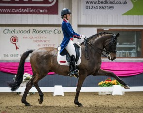 Charlotte Dujardin and Erlentanz at the 2019 CDI Keysoe :: Photo © Tilly Berendt