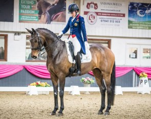 Charlotte Dujardin and Mount St. John VIP at the 2019 CDI Keysoe