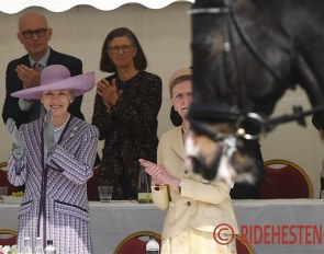 HRH Princess Benedikte at her 75th birthday party at Koldinghus :: Photo © Ridehesten