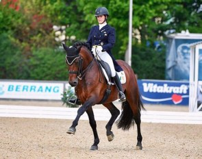Anna Merveldt and Esporim at the 2019 CDI Mannheim :: Photo © Stefan Lafrentz