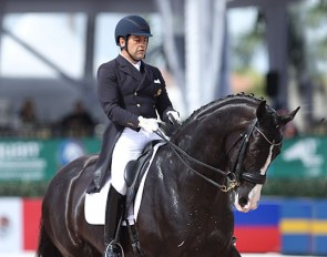 Raul Corchuelo and Senorita at the 2018 CDI Wellington :: Photo © Astrid Appels