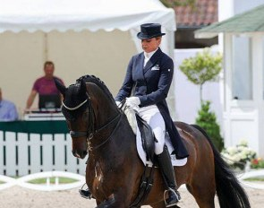 Dorothee Schneider and Showtime at the 2019 German Dressage Championships :: Photo © LL-foto
