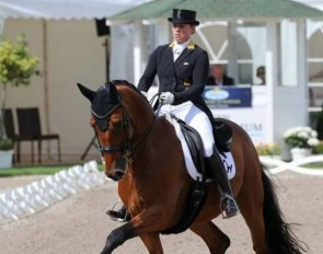 Isabell Werth and Emilio at the 2019 German Dressage Championships :: Photo © LL-foto