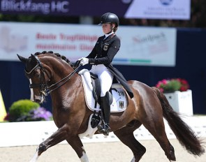 Anna Middelberg on Blickfang HC at the 2019 CDIO-PJYR Hagen :: Photo © Astrid Appels