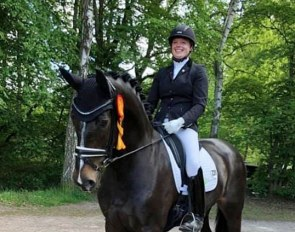 Ann-Christin Wienkamp had a successful day in Saarburg qualifying both Donatella and Scarlett for the 2019 Bundeschampionate
