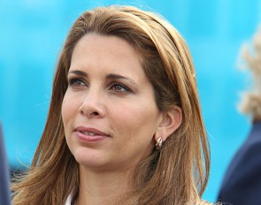 Princess Haya Bint al Hussein at the 2012 Olympic Games in London :: Photo © Astrid Appels