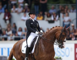 Isabell Werth and Bella Rose at the 2019 CDIO Aachen :: Photo © Astrid Appels