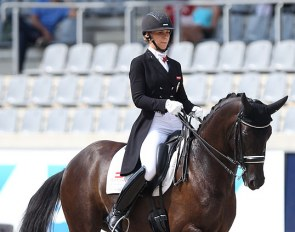 Karoline Valenta and Diego at the 2018 CDIO Aachen :: Photo © Astrid Appels