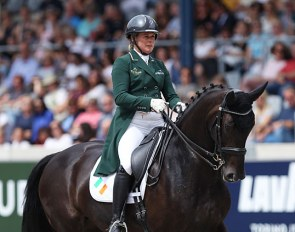 Heike Holstein and Sambuca at the 2019 CDIO Aachen :: Photo © Astrid Appels