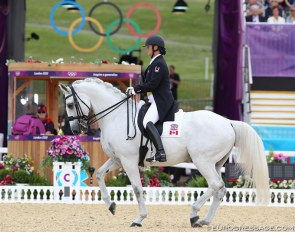 Jacqueline Brooks and D Niro at the 2012 Olympic Games in London :: Photo © Astrid Appels