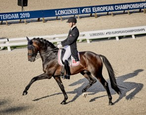Denmark's Daniel Bachmann Andersen and Blue Hors Zack will be chasing down a back-to-back victory on home ground at the opening leg of the FEI Dressage World Cup™ Western European League 2019/2020 in Herning, Denmark this weekend. (FEI/Liz Gregg)