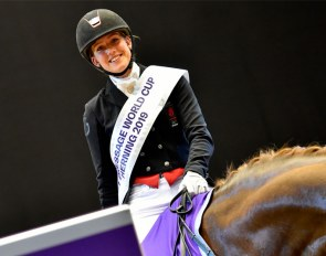 Cathrine Dufour Wins Kur with 88% Earning Freestyle at 2019 CDI-W Herning