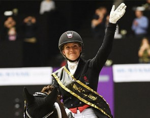 Cathrine Dufour and Bohemian win the 2019 CDI-W Herning Grand Prix