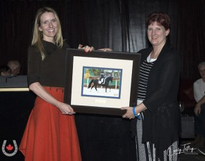 Chloe Gasiorowski was named the Dressage Canada Owner of the Year 2019