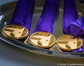 FEI gold medals. Who will win them at the 2021 European Dressage Championships? When will they be held ? :: Photo © Dirk Caremans