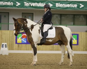 Kyrby Brown on her new ride Scout, owned by Jo Alderton