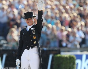 Dorothee Schneider at the 2019 European Dressage Championships :: Photo © Astrid Appels