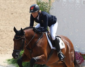 Ingrid Klimke and Hale Bob at the 2016 Olympic Games in Rio