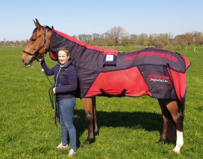 Isabell Werth believes in Activo-Med and the magnetic blankets are an integral part of her horse management