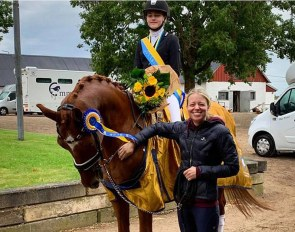 Irma Wickstrom and Bossa Nova are the 2020 Swedish Children Champions